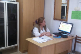 ЛОР кабинет. Агаева Патимат Зияутдиновна